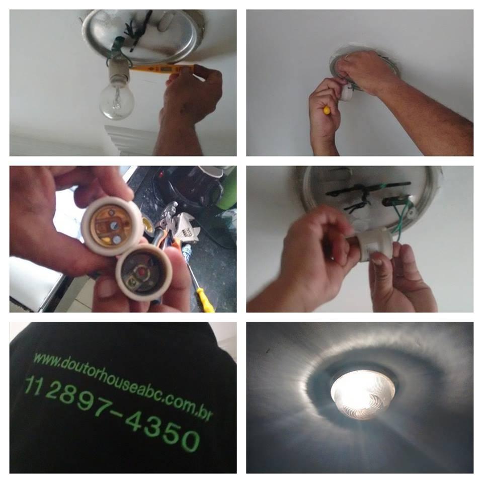 Empresa para Serviços de Reparo Residencial Elétrico em Quinta da Paineira - Eletricista na Zona Norte
